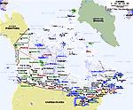 Karte von Canada